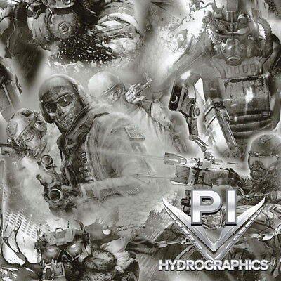 Hydrographics Film Hydro Dipping Water Transfer Print Film Team Apocalypse Dd747
