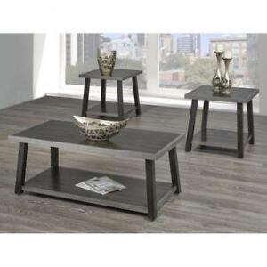 THREE PIECE COFFEE TABLE SET (BR251)