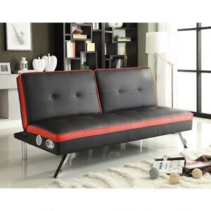 Sofa bed with audio