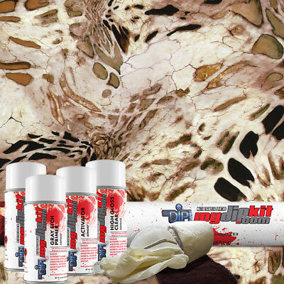 Hydrographic Film Dip Kit Hydro Dipping Water Transfer Printing Sand Storm Rc412