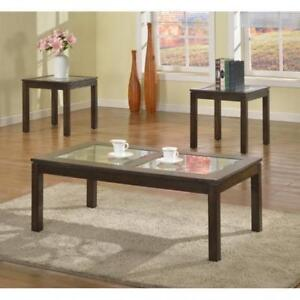 Wooden Coffee Table Set Caledon (BR501)