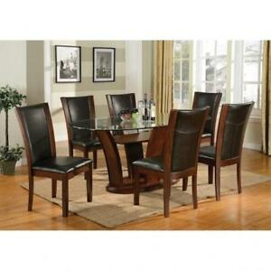 OVAL DINING TABLE - WITH CHAIRS ON SALE (BD-1188)