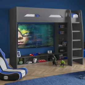 Gaming Bed with storage