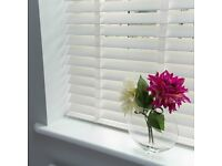 Wooden Venetian Blinds - 120cm wide x 200cm drop