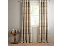JOHN LEWIS CURTAINS DARCEY CHECK 90 x 72 5 months old