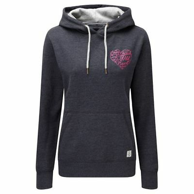 Tog24 Amy Deluxe Hoody Navy Marl Size UK 24 rrp £40 DH087 MM 05