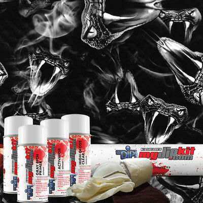 Hydro Dipping Water Transfer Printing Hydrographic Dip Kit Viper Pit Dd-677