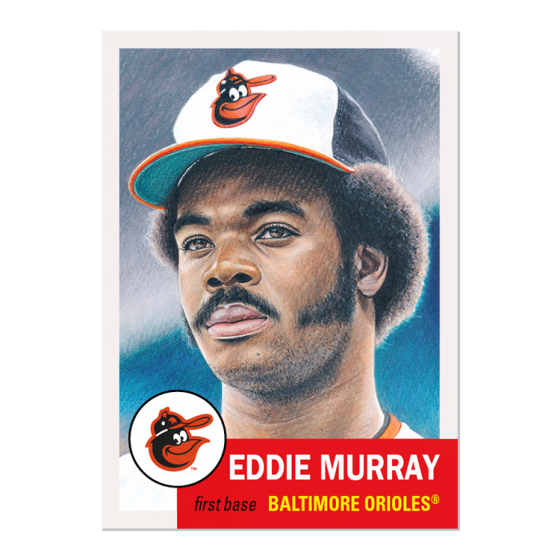 ?2020 TOPPS LIVING SET #327 EDDIE MURRAY BALTIMORE ORIOLES (PRE-SALE)? HOF