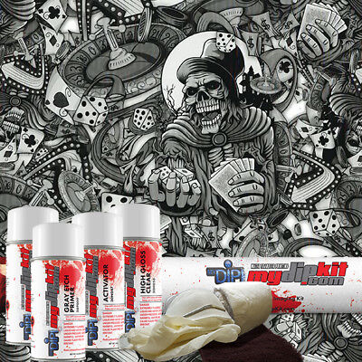 Hydro Dipping Water Transfer Printing Hydrographic Dip Kit High Roller Dd-923