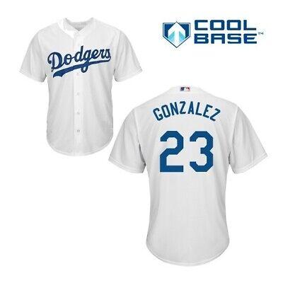 Adrian Gonzalez Los Angeles Dodgers Cool Base Spieler Baseball Jersey MLB Trikot ()