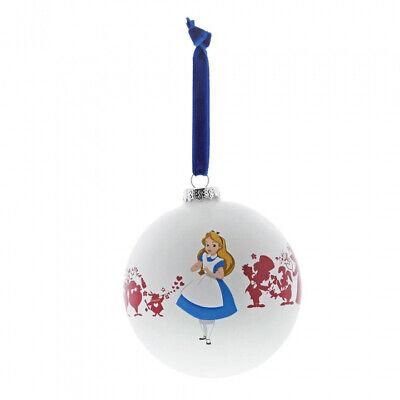 Disney Enesco Enchanting Hanging Ornament Weihnachtsbaumschmuck Alice Wunderland
