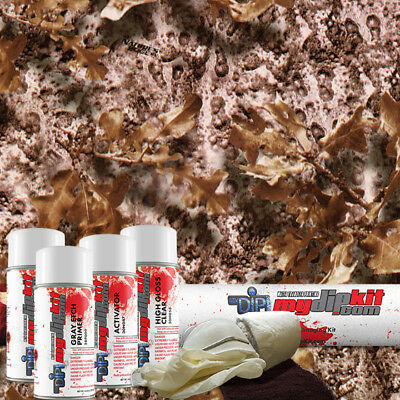 Hydro Dipping Water Transfer Printing Hydrographic Dip Kit Nature Camo Rc743