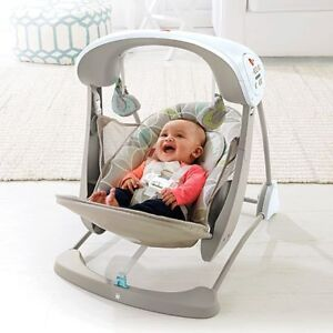 BALANÇOIRE FISHER PRICE DELUXE TAKE A LONG-LAISSE 45$