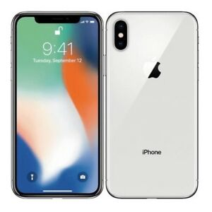 White - iPhone X - 64 Gig