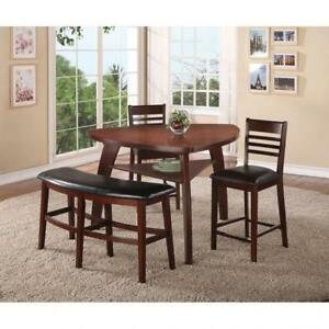 DINING TABLE WITH BENCH  - DINING SETS THAT INSPIRE YOUR HOME (BD-1186)