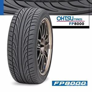OHTSU FP8000 SUMMER TIRES @ AUTOTEX PERFORMANCE