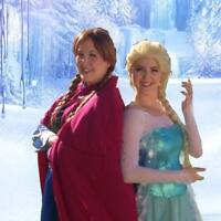 Elsa & Anna ~ Frozen Sisters ~ Birthday & Event Entertainers