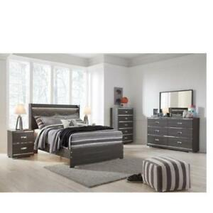 Ashley king size bedroom furniture set. (ASH2003)