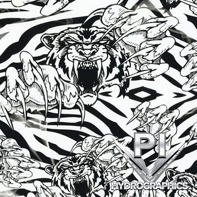 Hydrographic Film Hydro Dipping Water Transfer Printing Film Crazy Tiger Ll153