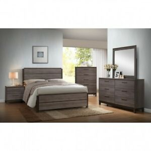 8pc Rustic Solid Wood Queen bedroom set $999.