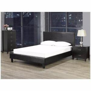 LEATHER BEDROOM Furniture - Good quality Leather Furniture on Sale(BR30)