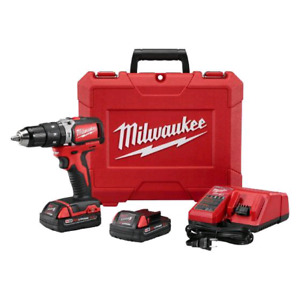 Milwaukee M18 18-Volt Lithium-Ion Brushless 1/2-Inch HammerDrill