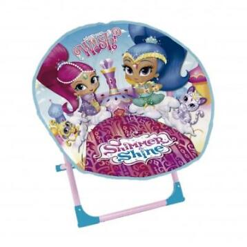 Nickelodeon Shimmer en Shine stoel junior multicolor 48 cm