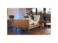single electric bed.. with drop down sides