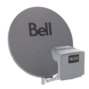 NEW Bell Satellite Dish with DPP Twin LNB