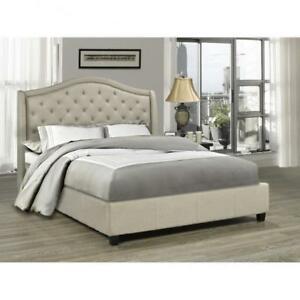 Tufted Queen Bed on Sale in Toronto (BR50)