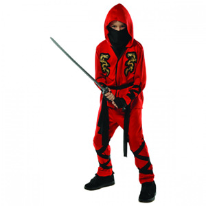 Ninja Costume for boys (4-6)