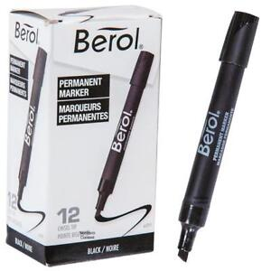 Berol Permanent Markers-$5 per box of 12-Black,Green,Red,Blue +