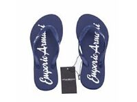 Genuine Emporio Armani Womens Flip flops Size UK 4