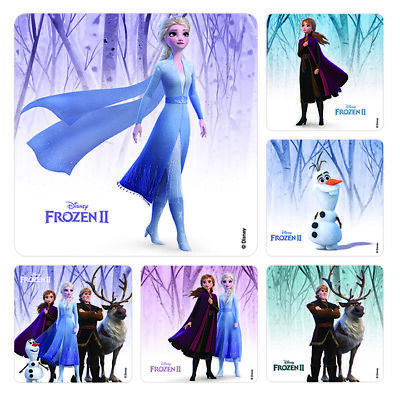Frozen Birthday Bags (25 Frozen 2 STICKERS Party Favors Supplies for Birthday Loot Treat)