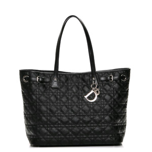 Christian Dior Black Large Tote