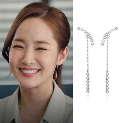 STONE HENGE K1157 Whats wrong with secretary kim EARRINGS Korea Drama at Arafeel