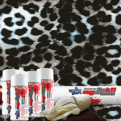 Hydro Dipping Water Transfer Printing Hydrographic Dip Kit Crazy Leopard Dd-951