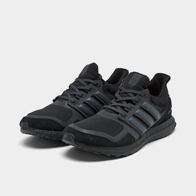 Men's Adidas Ultra Boost S&L Running Shoes Black / Light Carbon Sz 9 EF1361