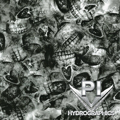 Hydrographic Film Hydro Dipping Water Transfer Printing Depleted Cranium Ll869