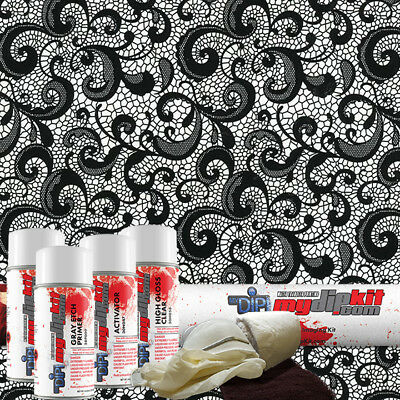Hydro Dipping Water Transfer Printing Hydrographic Dip Kit Lace Print Dd-948