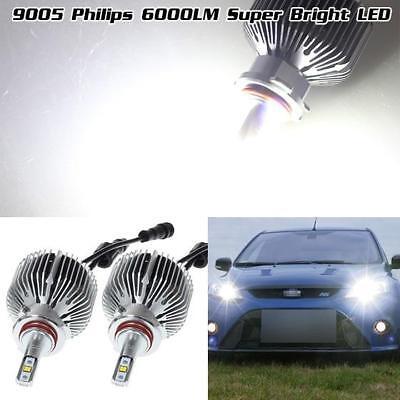 Headlamp High Beam 9005 HB3 6000LM White 6500K Adjustable LED Projector