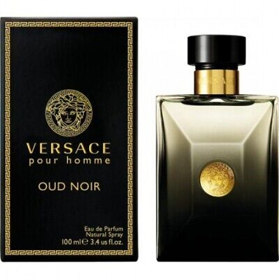 Versace Oud Noir Eau de Parfum Perfume for Men 100ml