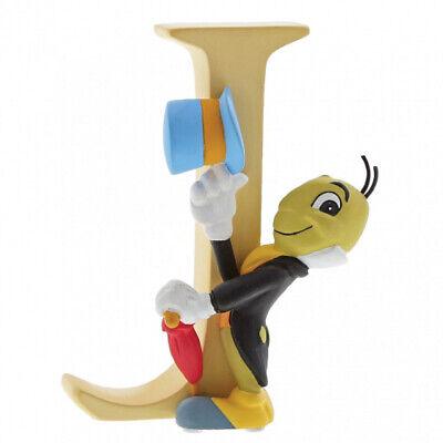 NEW Disney Alphabet Letters - J - Jiminy Cricket -Enchanting Disney Collection