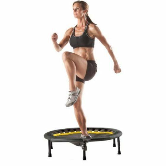 Gold's Gym 36-Inch Mini Trampoline Circuit Trainer Black Aer