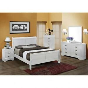 SLEIGH BED - BEST QUEEN BED FRAMES (BD-1105)