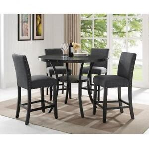 Traditional 5 PC Pub Height Dining Set (BD-1781)