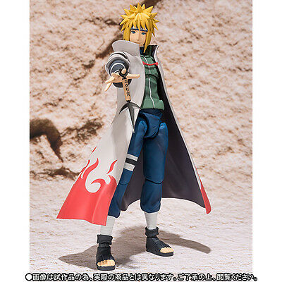 S.H. Figuarts Naruto Namikaze Minato Action Figure SHF Toy Doll Gift USA Seller