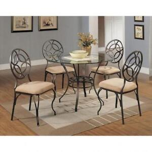 ROUND KITCHEN TABLE -SHOP FOR BEST DEALS ON FURNITURE AT KITCHEN AND COUCH (BD-1173)