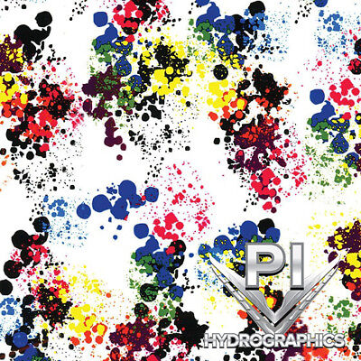 Hydrographic Film Hydro Dipping Water Transfer Printing Paint Splatter Dd967