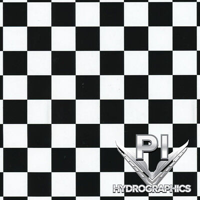 Hydrographics Film Hydro Dipping Water Transfer Printing Checkered Flag Ll691